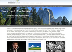 Whittier Trust Website