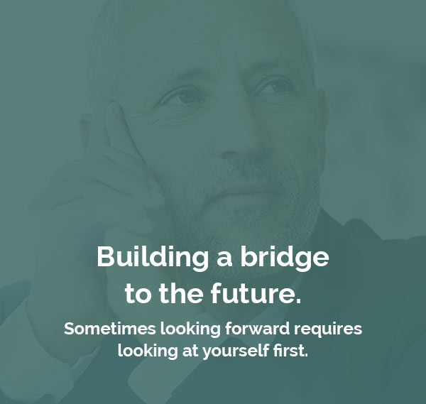 Building a bridge to the future.